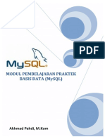 Modul SQL - Pahdi