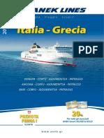 Italia - Grecia 2019 - ANEK LINES