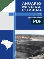 DNPM - Anuário Mineral Estadual Rio Grande Do Sul 2015 Ano Base 2014