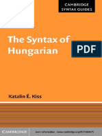 The Syntax of Hungarian.pdf