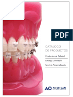 American Orthodontic  Catalogo Spanish