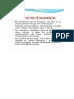 Fundamento Pedagógico Didactico