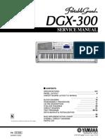 Yamaha Dgx-300 Audio