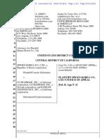 Spigen Korea v. Ultraproof - Notice of Appeal
