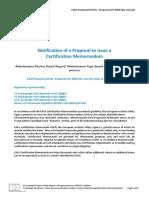 Regulación EASA para MRB