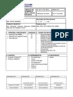 GH-P-OP-P 023 29 Apilamiento, Limpieza de Losa y Abastecimiento de Concentrado a Chute SI 5010-01 REV 02 2018
