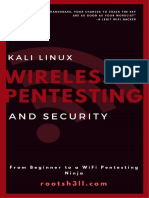 Wireless Pentesting and Security