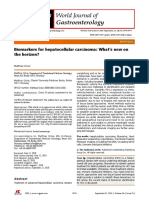 Biomarkers for Hepatocellular Carcinoma What's New on the Horizon