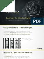Certificados e Chaves Em Hospitais