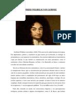 Biografias de Gaus y Leibniz