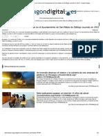 2017-06-29 Aragón Digital Detenido Un Hombre Por Un Robo en El Ayuntamiento de San Mateo de Gállego Ocurrido en 2013