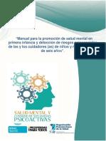Manual Promoción SALUD MENTAL Primera Infancia