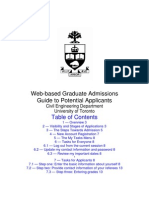 University of Toronto Application Help Guide