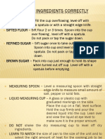 HOW TO MEASURE INGREDIENTS CORRECTLY-PPT.