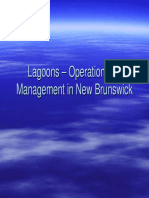 Lagoons Operation and Management in New Brunswick