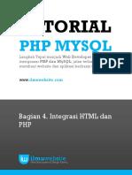PHP&MySQL Bag. 4