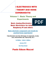 Learn Electronics With Basic Theory and Home Experiments