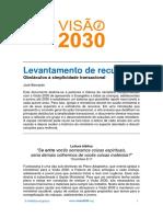 visão 2030 - Relação de Ajuda e Cuidado