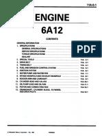 6A12 engine manual