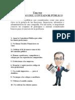 Decalogo Del Contador