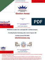 Election Awaaz 2018