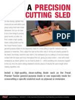 Build a Precision Crosscutting Sled