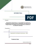 Informe Final Fundación Solar OEA