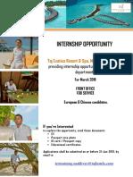 Taj Exotica -New Job Openings Interns - 22-Jan-19