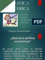 Politica Economica y Tipo de Cambio