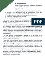 Sociolingvistica Franceza