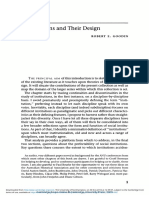 Institutions and Their Design