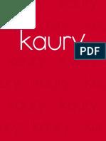 Catalogo Kaury 2018