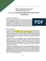 2.2 Clases Del Framework NET Para El Acceso a Datos en ASP NET