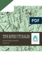 Tips Estructurales