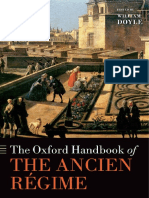 [Oxford Handbooks] DOYLE. William. the Oxford Handbook of the Ancien Régime