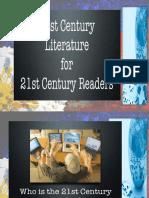 B.2.5 21st Century Literary Genres