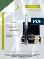 Hoja de Producto Ref. Pc-137 Esclerómetro