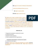 Modelo Acta Reforma Estatutaria Esal