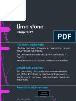Chapter#9 (Limestone) Ppt#1