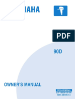 Yamaha 90D Outboard Owner's Manual