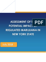 Assessment of the Potential Impact of Regulated Marijuana in New York State