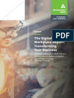 Digital Workplace Report Eu