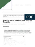 Horizontal Axis Wind Turbine_ Working Principle _ Eepowerschool.com