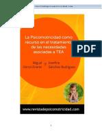 1.La Psicomotricidad Como Recurso en El Tratamiento de Las Necesidades Asociadas a TEA
