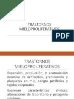 TRASTORNOS MIELOPROLIFERATIVOS MLPR