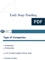 Early Stage Funding