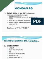 Klasifikasi BGI