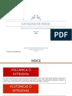 Catalago de Rocas (Recuperado Automáticamente)