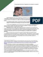 La Paradoja Brasileña o El Principio Del Fin de Las