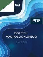 Boletín Macroeconómico - Enero 2019